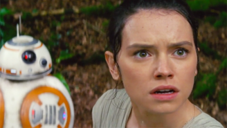 Watch 'Star Wars: The Force Awakens' Stars Daisy Ridley And John Boyega React To The New Trailer