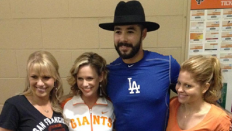 A Dodgers Pitcher Wasn't Happy About The Cast Of 'Fuller House' Filming A Scene During His Start