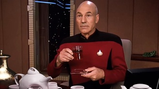 Captain Picard Is Addicted To Tea And Flutes In Hilarious New 'Star Trek: The Next Generation' Edits