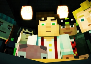 'Minecraft: Story Mode' Drops A New Trailer And Adds John Hodgman To Its Impressive Cast
