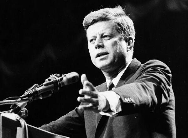 Kennedy Addressing