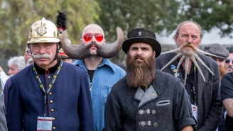 These Photos From The World Beard Championships Are A Joy To Behold