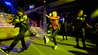 The Backstreet Boys Reunited To Perform At A Fashion Show