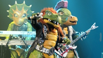 Meet Hevisaurus, The Finland Dinosaur Metal Band For Children