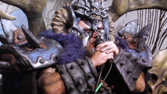 Gwar Seamlessly Covers Cyndi Lauper's 'She Bop' And The Ramones' 'Blitzkrieg Bop'
