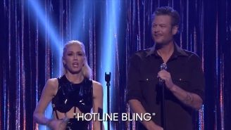 Gwen Stefani's Cover Of 'Hotline Bling' With Blake Shelton Might Be The Worst