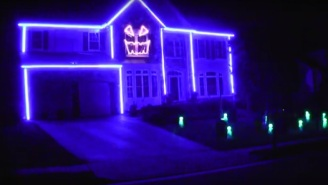 Check Out This Super Impressive Halloween Light Show Set To A Macklemore Song