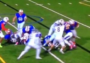 Watch High School Running Back Lorenzo Harrison With A Ridiculous 92-Yard Touchdown Run