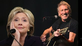 Roger Waters Worries Hillary Clinton May 'Drop A F*cking Nuclear Bomb On Somebody'