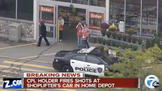 A Wannabe Vigilante Opened Fire On A Busy Home Depot Parking Lot Attempting To Stop A Shoplifter