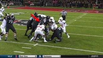 Watch Cincinnati's Running Back Somehow Emerge From A Massive Scrum To Score An Absurd Touchdown