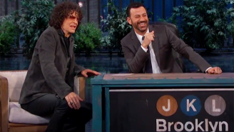 Howard Stern Tried His Best To Rekindle The Rivalry Between Jimmy Kimmel And Jay Leno