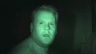 James Corden Went Full 'Ghost Adventurer' In His Search To See If His Studio Is Haunted