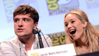 David O. Russell And Josh Hutcherson Both High Five Jennifer Lawrence's Equal Pay Comments