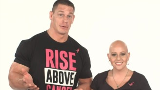Watch John Cena Do The Whip/Nae Nae With A Breast Cancer Survivor