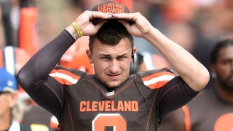 Video Of Johnny Manziel's Interaction With Police Has Been Released