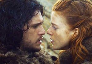Rose Leslie Stopped Talking To Kit Harington After She Learned Jon Snow's Fate On 'Game Of Thrones'
