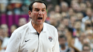 Mike Krzyzewski Says He'll Step Down As Team USA Coach After The 2016 Olympics