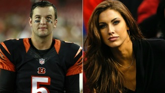 Katherine McCarron Wasn't Happy With That Nude Bengals Locker Room Interview