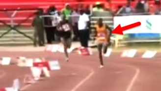 Watch This Man Jump Into A Marathon At The Last Minute And Still Manage To Lose