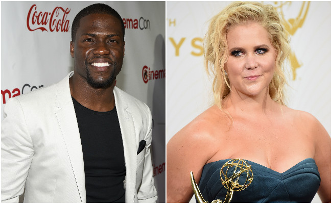 Amy Schumer Received A 'Hostile Text' From Kevin Hart Before Hosting 'SNL'