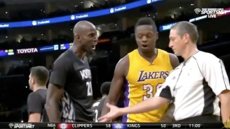 Kevin Garnett Introduces Himself To Julius Randle With Some Spirited Smack Talk