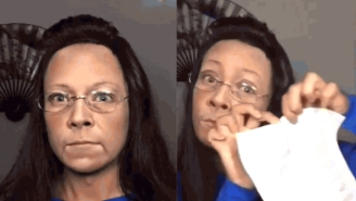 Watch This Makeup Artist Transform Into Kim Davis In The Most Perfect Way