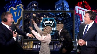 Please Enjoy Kirk Herbstreit Freaking The Hell Out On National Television