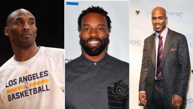 Kobe Bryant, Baron Davis, Stephon Marbury