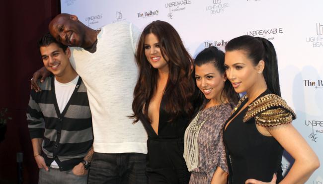 Lamar Odom, Kardashians