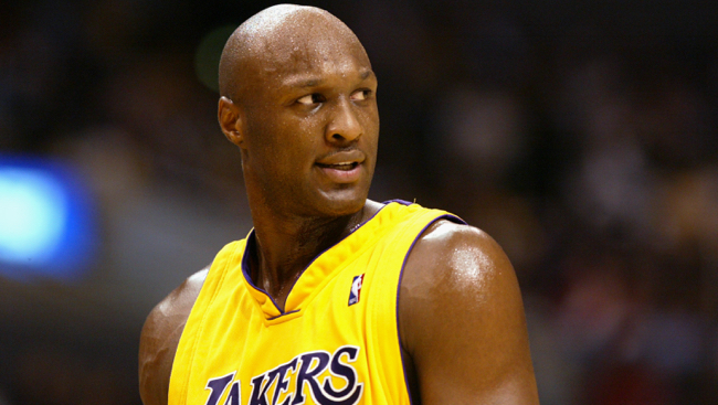 Lamar Odom Was Reportedly Able To Open His Eyes And ...