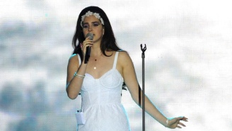 Lana Del Rey Is, At Last, Just A Musician