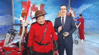 John Oliver Rallied Against PM Stephen Harper In The Most Canadian Way