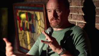 Louis C.K. Was Punched In The Face By A 'Heckler' For A Project He's Working On (UPDATE: Maybe Not)