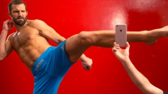 Can The New iPhone Survive A Roundhouse Kick From UFC Fighter Luke Rockhold?