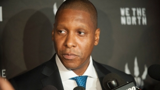 The Knicks Are Apparently Confident That The Raptors' Masai Ujiri Will Be Phil Jackson's Replacement