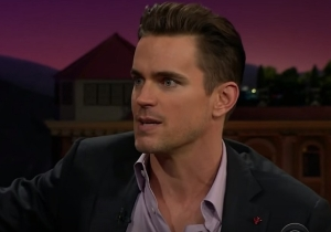 Matt Bomer Stayed In A Haunted Hotel So Freaky That He Needed Actual Witchcraft To Calm Things Down