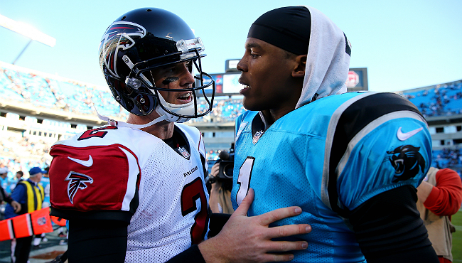 matt ryan cam newton smaller
