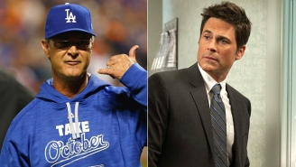 Rob Lowe Called Out Dodgers Manager Don Mattingly After The Team's Disappointing Playoffs
