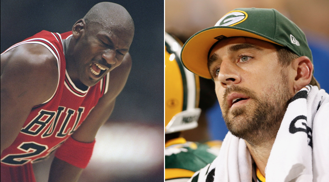 Aaron Rodgers Michael Jordan Comparison
