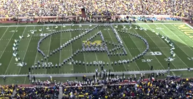 VIDEO] Michigan State's Marching Band Does A Great Marvel Medley