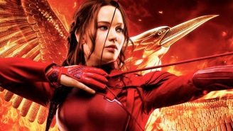The last 'Hunger Games' poster ever merges the Mockingjay with her namesake