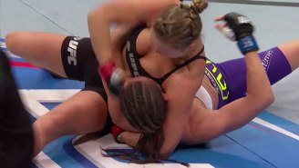 Watch The 5 Most Violent Championship Finishes In Women's MMA