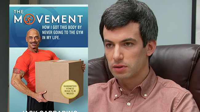 Nathan For You' Workout Book Is Now A Top Seller On Amazon