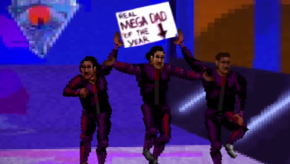 The New Day, Ric Flair, And More Get The Sega Genesis Treatment In This WWE 2K16 Parody Video