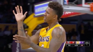 Nick Young Had His Most Swaggy P Moment Of The Preseason So Far