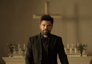 Here's A Sneak Peek At The First Blasphemous Trailer For 'Preacher'
