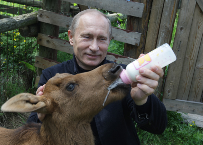 Russian Prime Ministers Vladimir Putin g