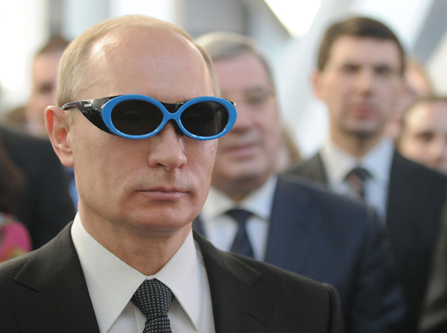 The Most Ridiculous Pictures Of Vladimir Putin