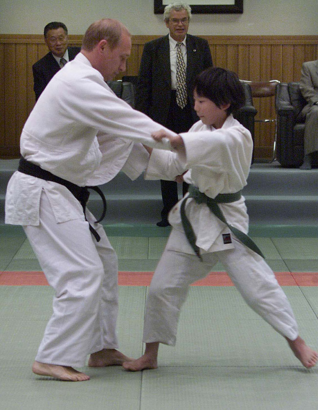 Putin A Judo Black Belt